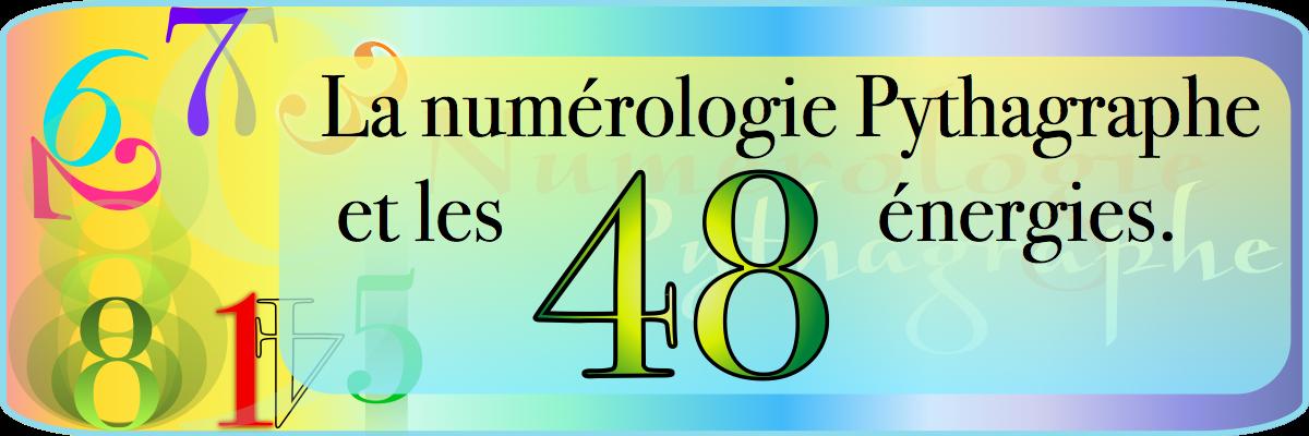 Bannière-Pythagraphe-les 48 energies